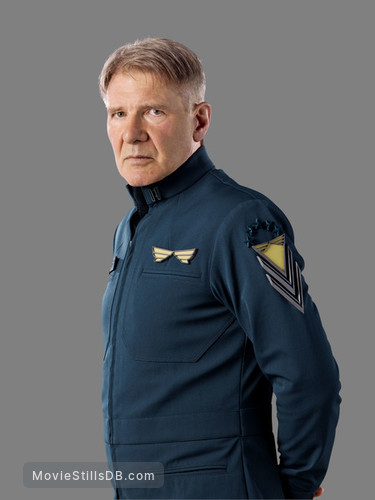 Ender's Game - Promo shot of Harrison Ford