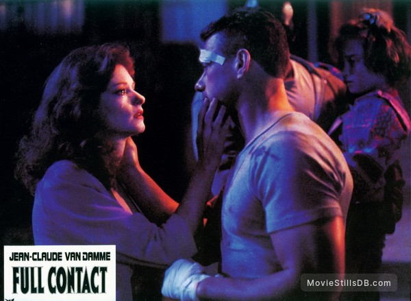 Lionheart - Lobby card with Jean-Claude Van Damme & Lisa ...