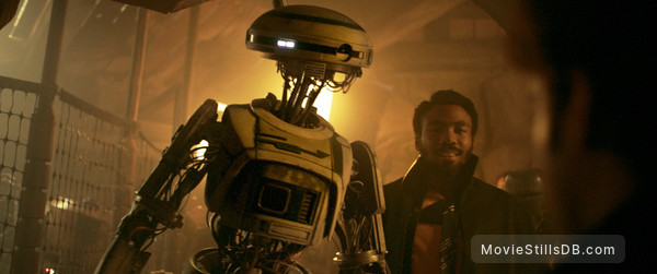 Solo: A Star Wars Story - Publicity still of Donald Glover