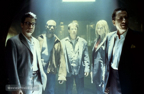 House On Haunted Hill - Publicity still of Geoffrey Rush, Taye Diggs, Peter Gallagher, Chris Kattan & Ali Larter