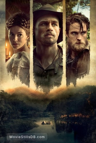 The Lost City of Z - Promotional art with Robert Pattinson, Sienna Miller & Charlie Hunnam