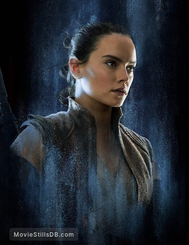 Star Wars: The Last Jedi - Promotional art with Daisy Ridley