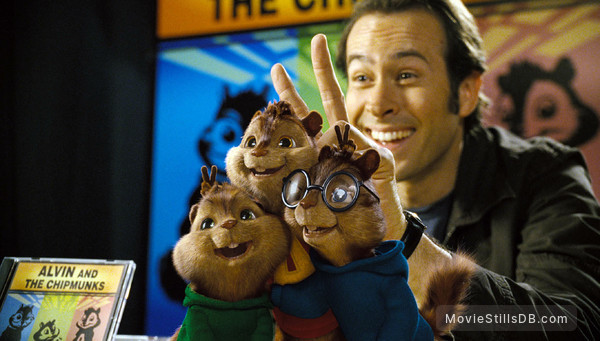 Alvin and the Chipmunks - Publicity still of Jason Lee