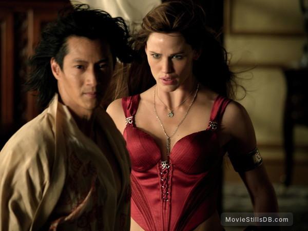 Elektra - Publicity still of Will Yun Lee & Jennifer Garner