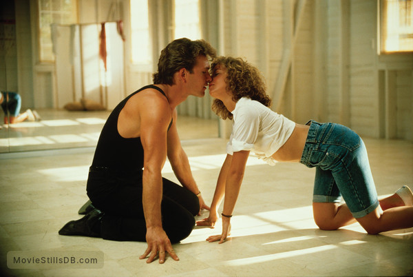Dirty Dancing - Publicity still of Patrick Swayze & Jennifer Grey