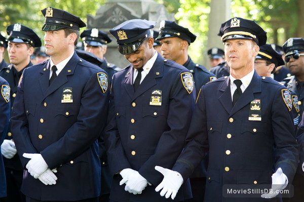 The Other Guys - Publicity still of Michael Keaton, Rob Riggle & Damon Wayans Jr.