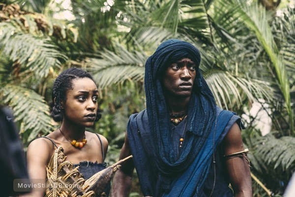 Roots - Publicity still of Malachi Kirby & Simona Brown