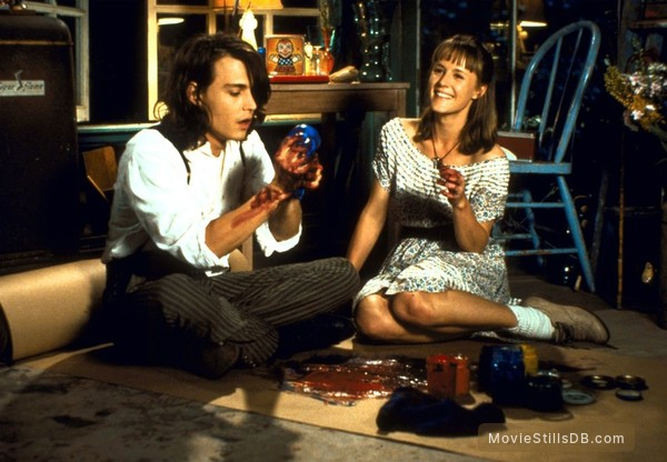 Benny And Joon - Publicity still of Mary Stuart Masterson & Johnny Depp