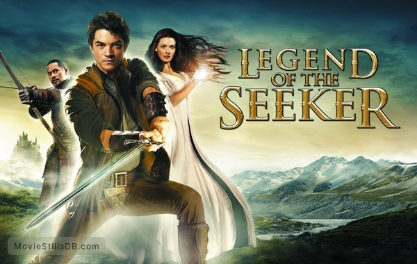 Legend of the Seeker - Promotional art with Craig Horner, Bridget Regan & Jay Laga'aia
