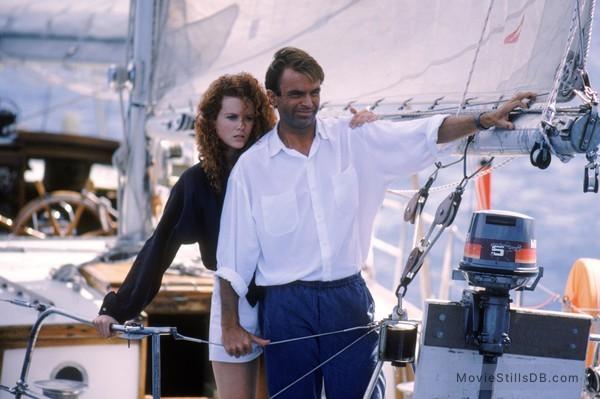 Dead Calm - Publicity still of Nicole Kidman & Sam Neill