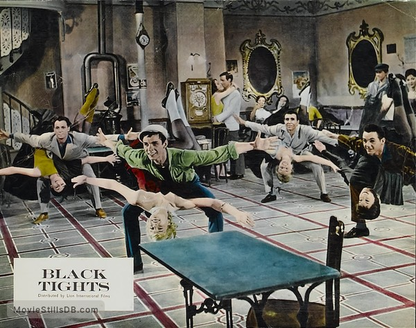 1-2-3-4 ou Les Collants noirs - Lobby card