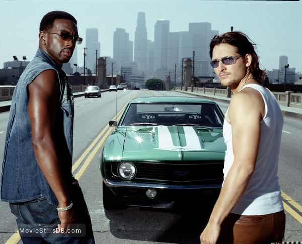 Fastlane - Promo shot of Peter Facinelli & Bill Bellamy