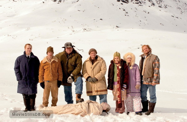 The Big White - Promo shot of W Earl Brown, Tim Blake Nelson, Giovanni Ribisi, Alison Lohman, Robin Williams, Holly Hunter, Woody Harrelson & Ward Massner