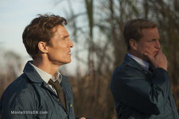 True Detective - Publicity still of Woody Harrelson & Matthew McConaughey