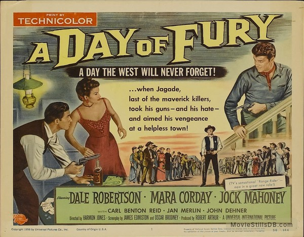 A Day of Fury - Lobby card