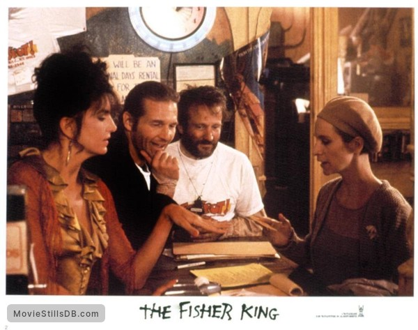 The Fisher King Publicity Still Of Mercedes Ruehl Jeff Bridges
