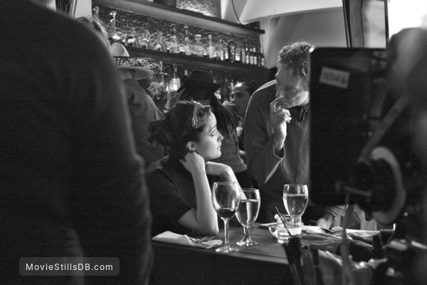 Adam - Behind the scenes photo of Rose Byrne & Max Mayer