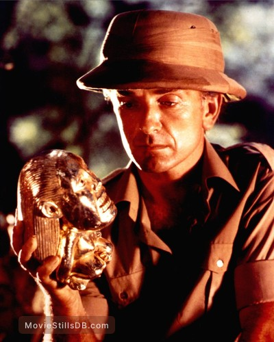 Raiders of the Lost Ark - Publicity still of Paul Freeman