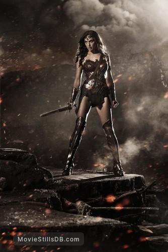 Batman v Superman: Dawn of Justice - Promotional art with Gal Gadot