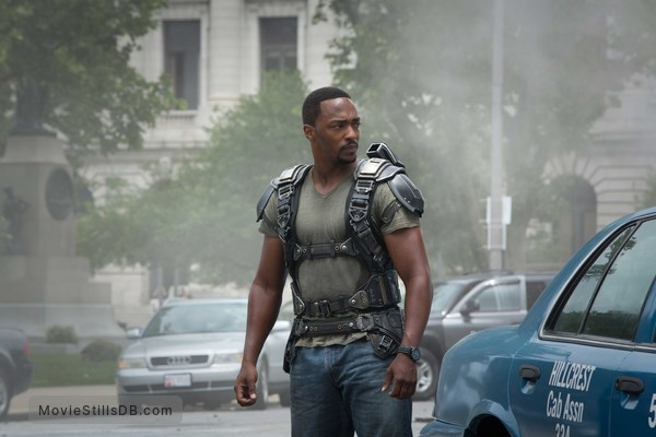 Captain America: The Winter Soldier - Publicity still of Anthony Mackie