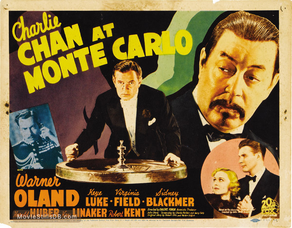 Charlie Chan at Monte Carlo - Lobby card