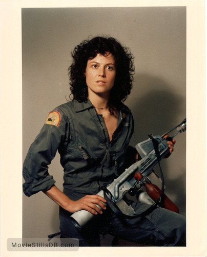 Alien - Promo shot of Sigourney Weaver