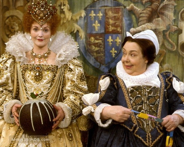 The Black Adder - Publicity still of Patsy Byrne & Miranda Richardson