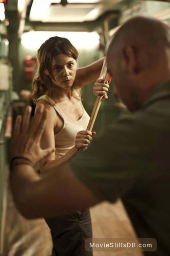 [REC] 4: Apocalipsis - Behind the scenes photo of Manuela Velasco & Jaume Balagueró