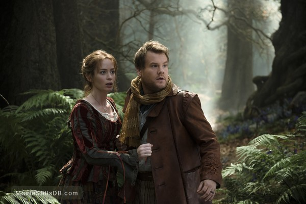 Into the Woods - Publicity still of Emily Blunt & James Corden