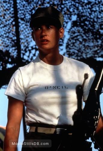 G.I. Jane - Publicity still of Demi Moore