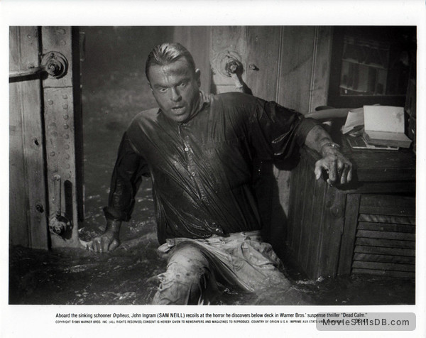 Dead Calm - Publicity still of Sam Neill