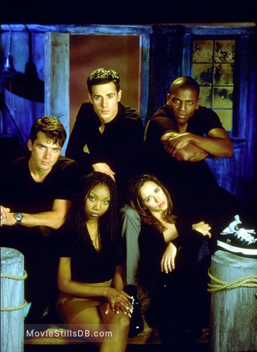 I Still Know What You Did Last Summer - Promo shot of Jennifer Love Hewitt, Mekhi Phifer, Matthew Settle, Brandy Norwood & Freddie Prinze Jr.