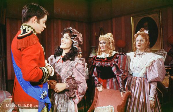 Faerie Tale Theatre - Publicity still of Matthew Broderick, Jennifer Beals, Eve Arden & Jane Alden