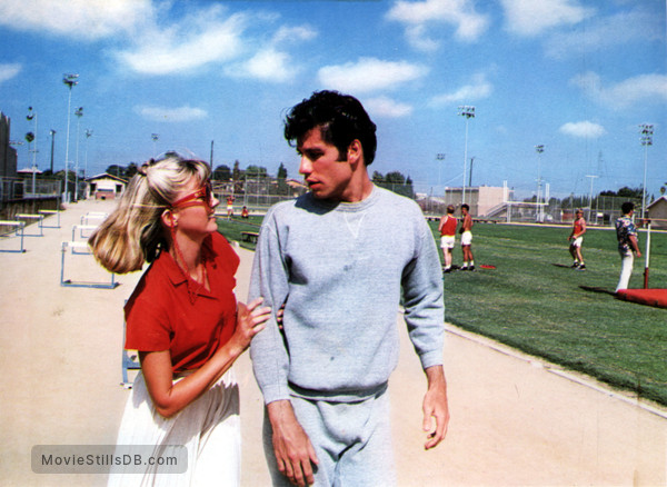 Grease - Publicity still of John Travolta & Olivia Newton-John