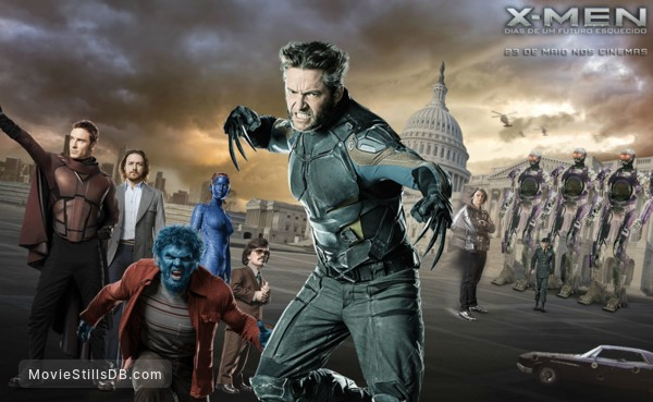 X Men Days Of Future Past Wallpaper With Hugh Jackman
