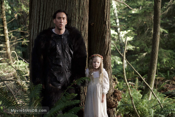 The Wicker Man - Publicity still of Nicolas Cage & Erika-Shaye Gair