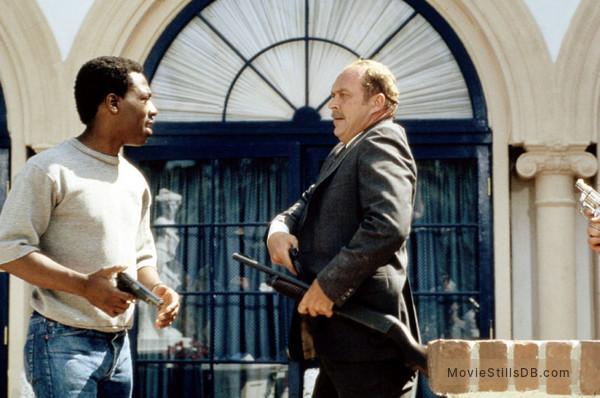 Beverly Hills Cop - Publicity still of Eddie Murphy & John Ashton