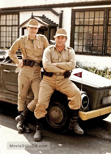 Raiders of the Lost Ark - Behind the scenes photo of Roy Beck & John Rees