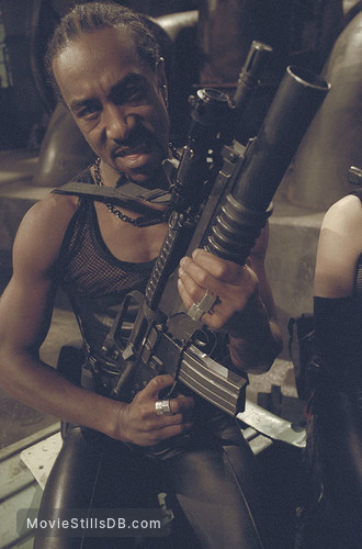 Blade 2 - Pre-production image with Danny John-Jules