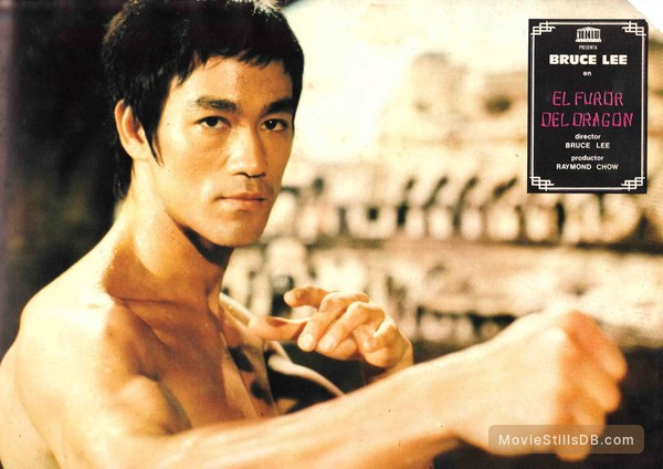 Return of the dragon lobby card with bruce lee thecheapjerseys Images