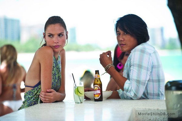 Fast Five - Publicity still of Gal Gadot & Sung Kang