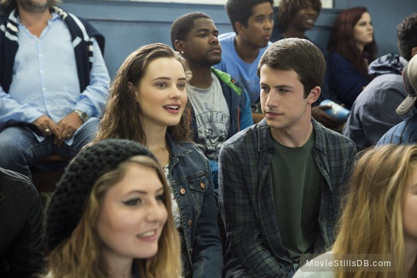 13 Reasons Why - Publicity still of Katherine Langford & Dylan Kenin