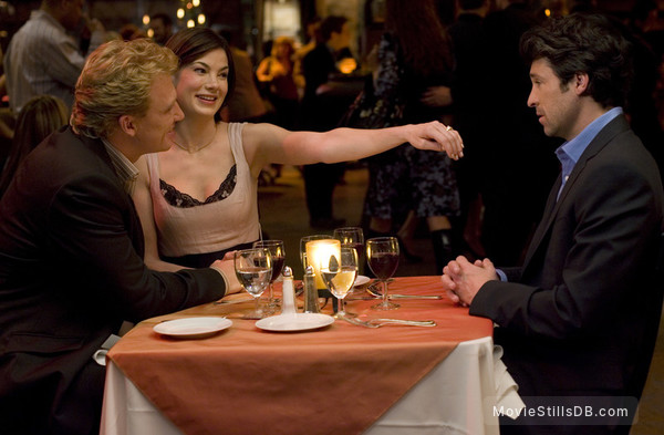 Made of Honor - Publicity still of Patrick Dempsey, Michelle Monaghan & Kevin McKidd