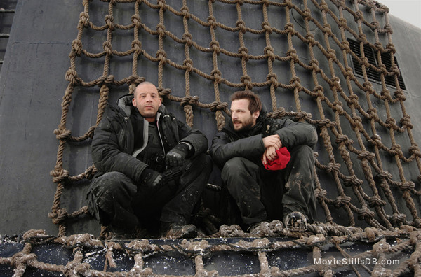 Babylon A.D. - Behind the scenes photo of Vin Diesel & Mathieu Kassovitz