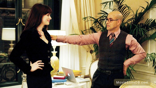 The Devil Wears Prada - Publicity still of Anne Hathaway & Stanley Tucci