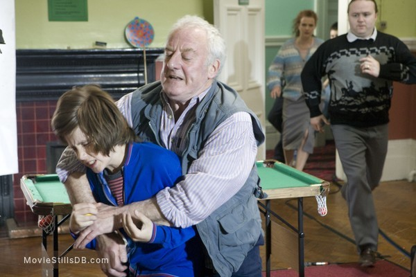 The Kid - Publicity still of Bernard Hill & William Miller