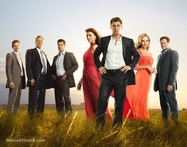 Lone Star - Promo shot of Bryce Johnson, Mark Deklin, Jon Voight, Adrianne Palicki, James Wolk, Eloise Mumford & David Keith