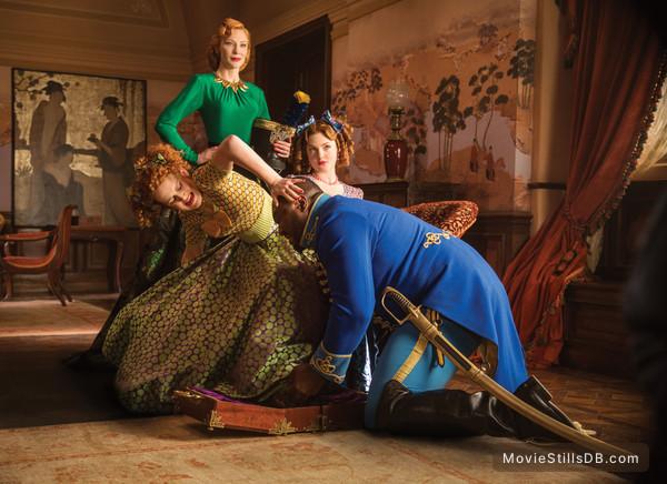 Cinderella - Publicity still of Cate Blanchett, Holliday Grainger, Nonso Anozie & Sophie McShera