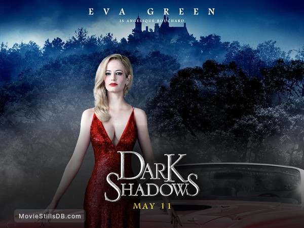 Dark Shadows - Wallpaper with Eva Green