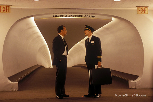 Catch Me If You Can - Publicity still of Leonardo DiCaprio & Tom Hanks